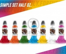 "Набор World Famous ""Simple Set (7 colors)"", 15 мл"