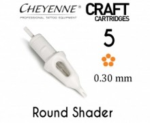 Модули 5 Round Shader 0.30 мм Craft Cheyenne
