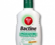 "Спрей-анестетик ""Bayer Bactine Anesthetic & Antiseptic Spray"" 150 мл"