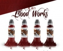 "Набор World Famous Ink ""BIG JOEL'S BLOOD WORKS SET"""