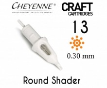 Модули 13 Round Shader 0.30 мм Craft Cheyenne