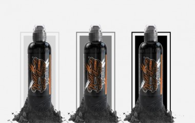 "Набор World Famous Ink ""WORLD FAMOUS CHARCOAL GREYWASH 3 BOTTLE SET"""